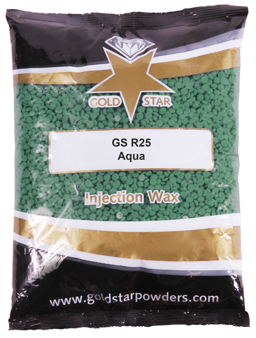 Image of wax bag labelled GS r25